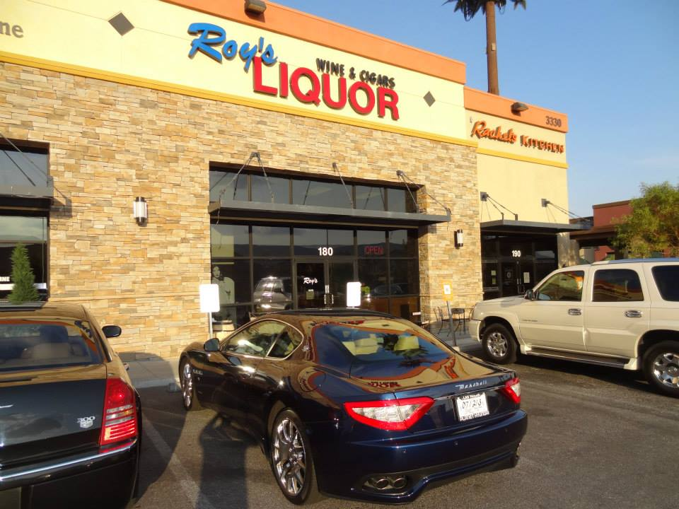 Roy's Liquor Store, Maserati out front